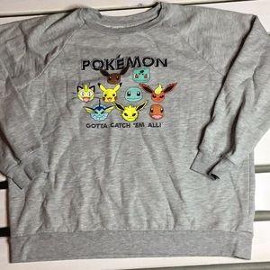 Pokemon Sweatshirt. Gotta Catch em All!